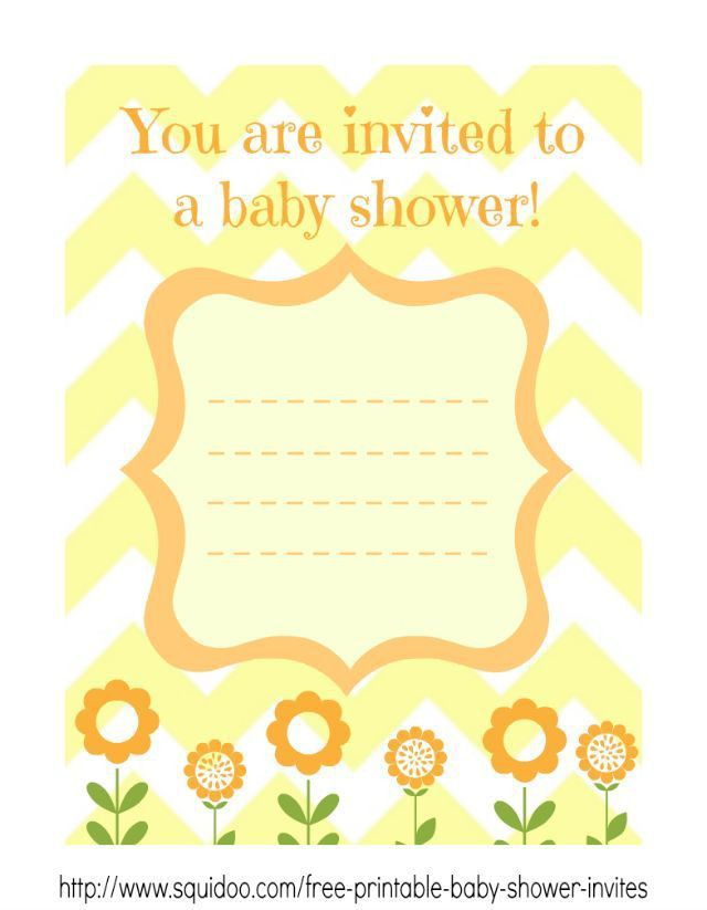 11 best Free Printable Baby Shower Invitations images on Pinterest ...