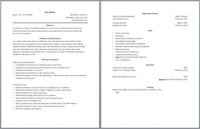 One Page Resume, 1 Page Resume Template. 1 Page Minimalist Resume .