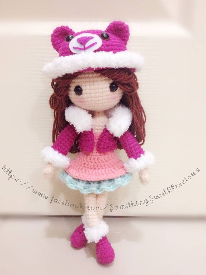 Amigurumi Doll How To : Crochet dolls and knitted on pinterest