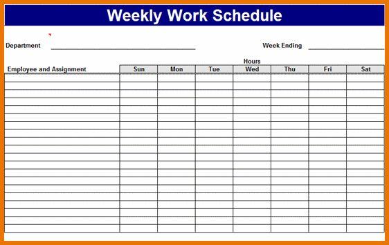 Work Schedule Template Free.Employee Work Schedule.PNG | Scope Of ...