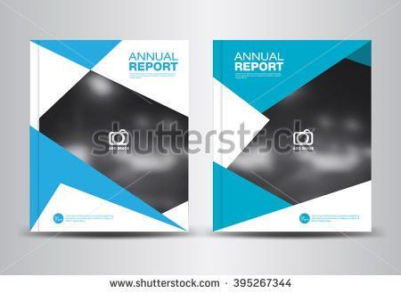 """ganpanjanee's """"2 page cover template background"""" set on Shutterstock"""