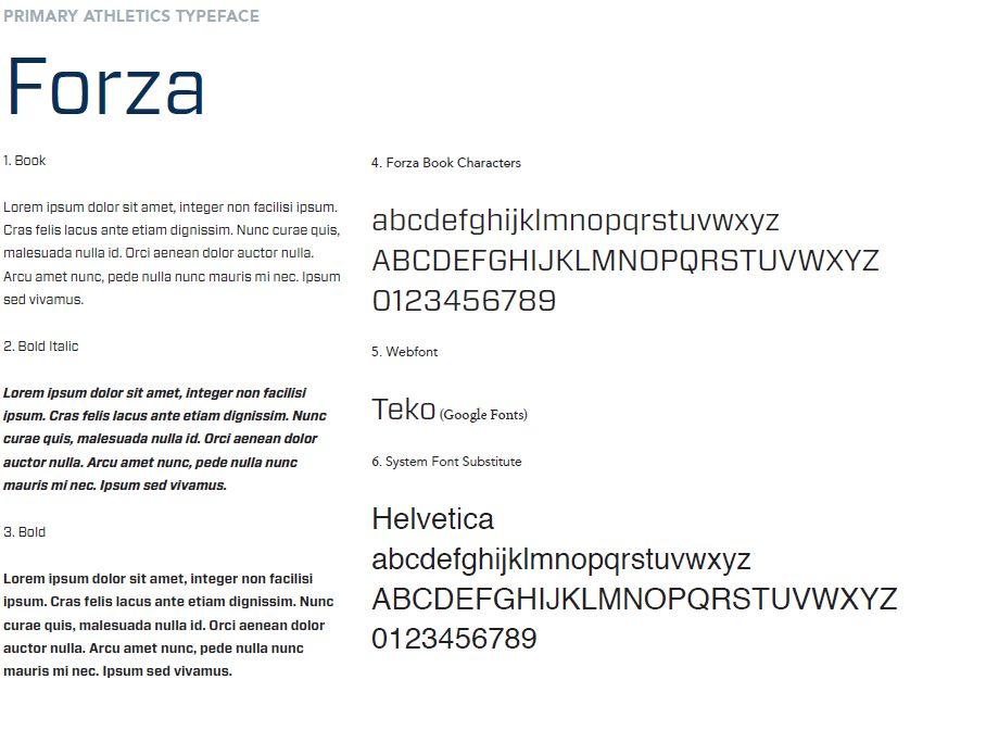 Typography – Augusta University