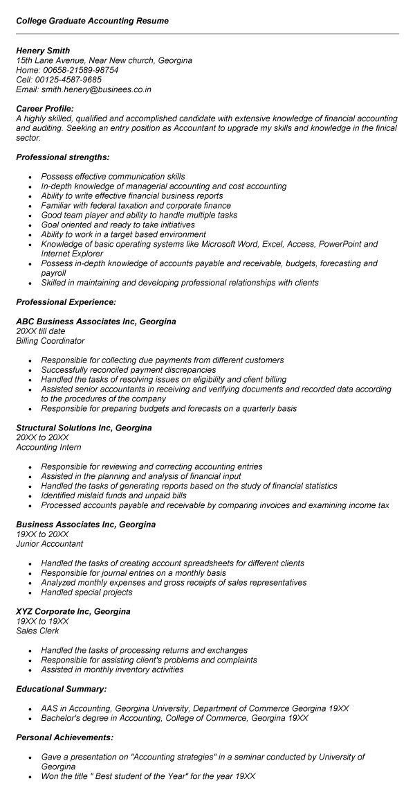 junior accountant resume resume cv cover letter