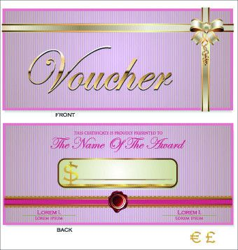 Free vector gift certificate border free vector download (8,482 ...