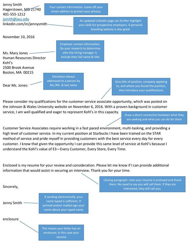 Anatomy of a Cover Letter: Three Things to Know About Targeted ...
