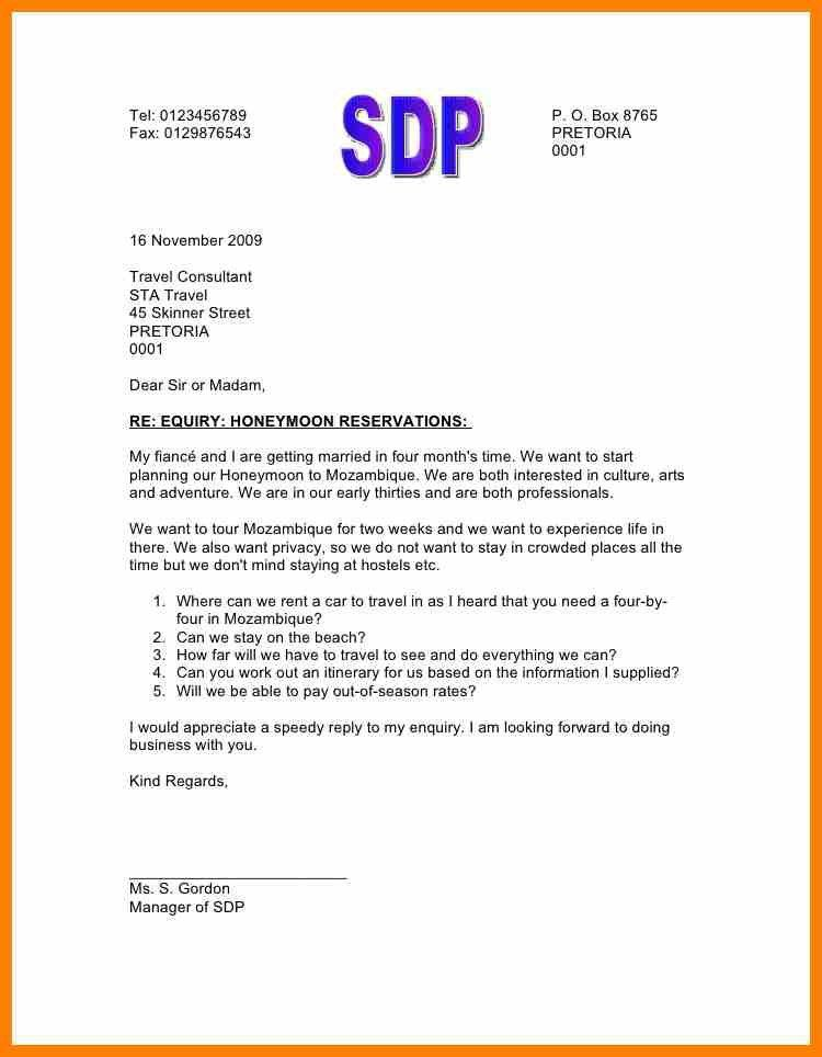 Beautiful Inquiry Letter Pictures - Best Resume Examples for Your ...