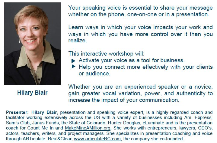 How to Create Your Professional Speaker Biography Yvonne Bryant ...