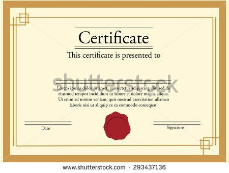 Modern Certificate Border Stock Images, Royalty-Free Images ...