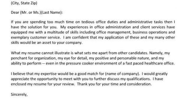 Executive Assistant Cover Letters. Cover Letter Example 5 ...