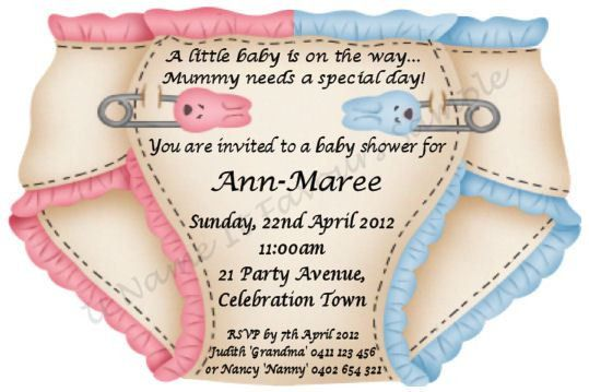 Make Your Own Baby Shower Invitations | Baby Shower for Parents