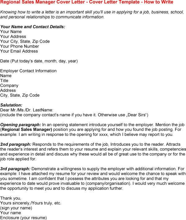 cover letter for insurance sales manager