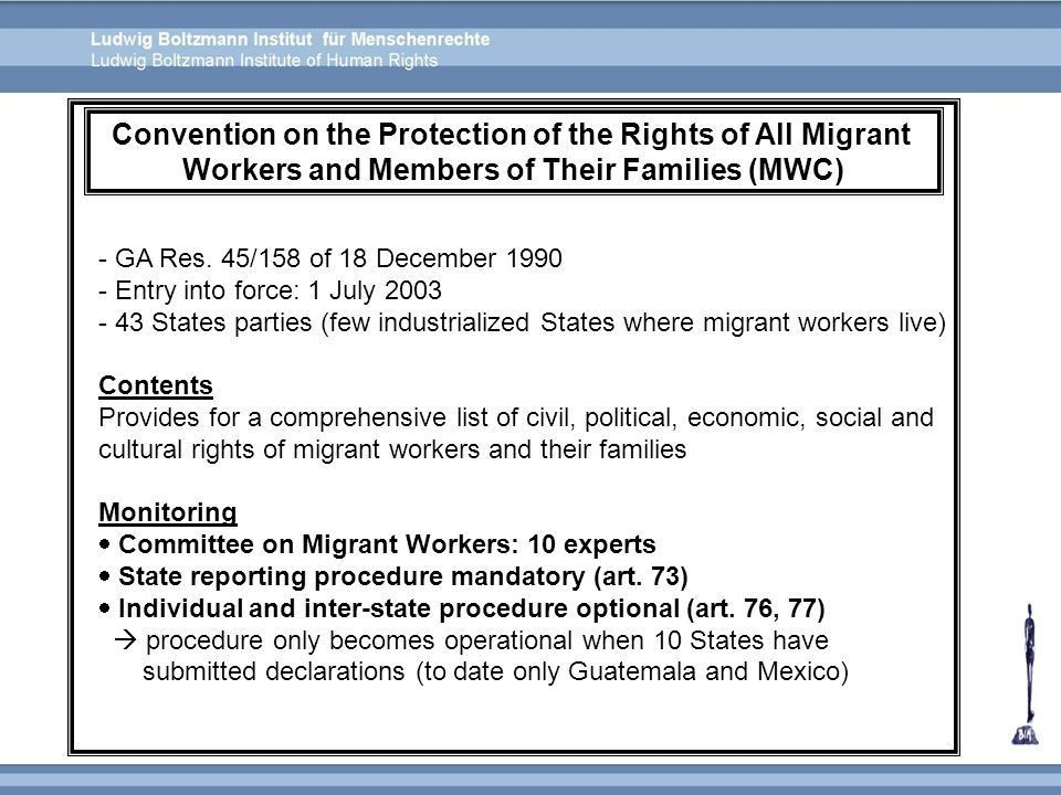 3. Human Rights Treaties and Monitoring Mechanisms - ppt video ...