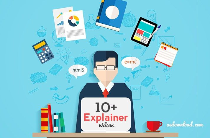 10+ Best Free Explainer Video After Effects Templates - Free After ...