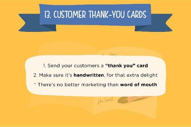 Thank You Card: Creative Ideas Customer Thank You Cards Corporate ...