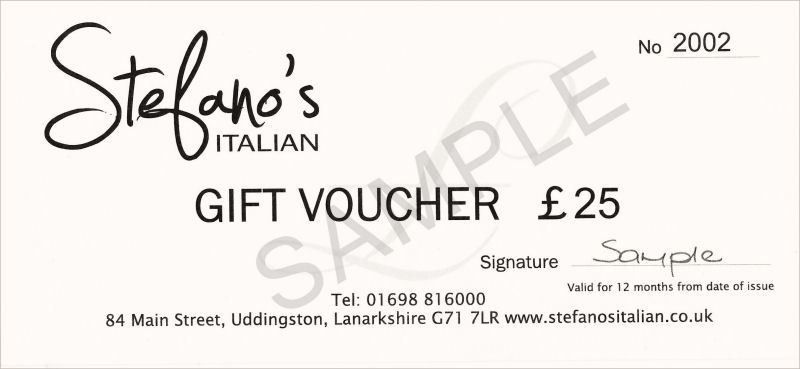 Free Editable Gift Voucher Format Example with White Background ...