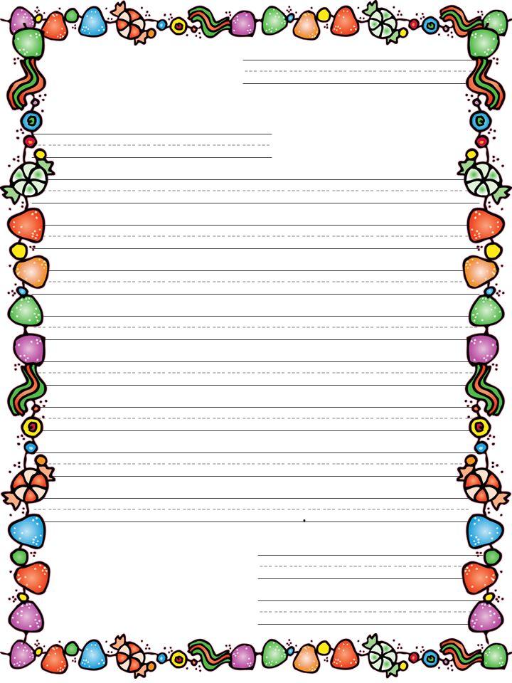 santa letter writing paper template | Santa Letter Templates ...