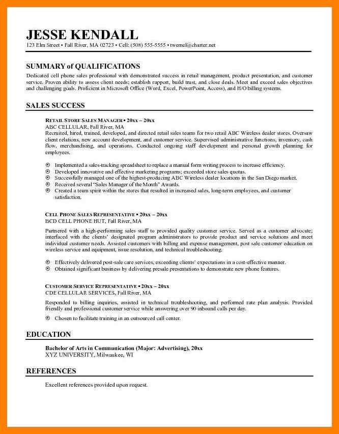 cell phone sales resume unforgettable mobile sales pro resume