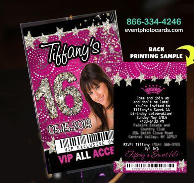 30 best VIP pass invitations images on Pinterest | Vip pass ...