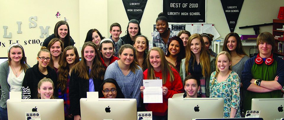 Liberty Yearbook Selected as National Sample Yearbook
