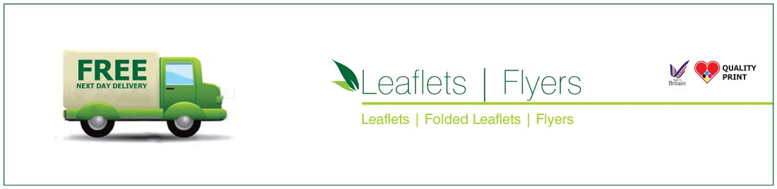 Folded Leaflet Printing + Free Next Day Delivery | AB Printing.co.uk