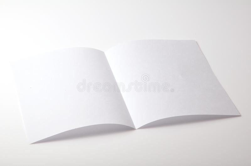Blank Brochure Stock Photos - Image: 12739793