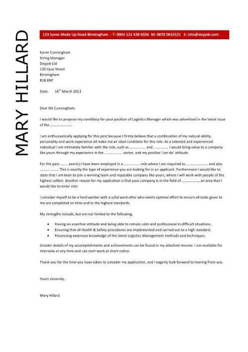 sample medical office manager cover letter