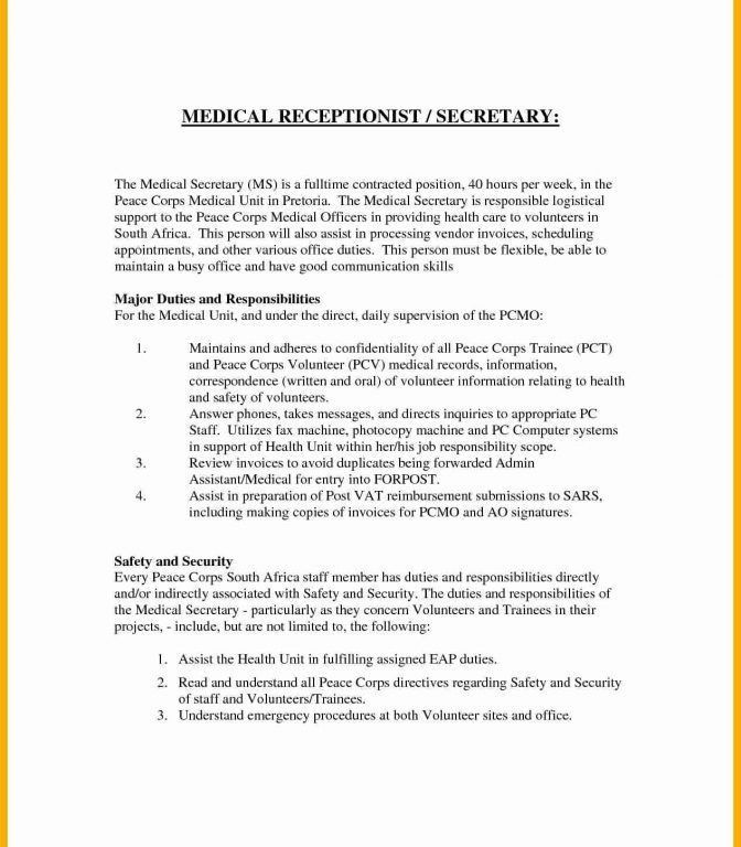 Fashionable Inspiration Veterinary Receptionist Cover Letter 11 ...