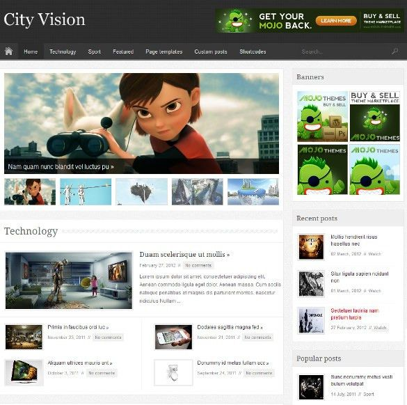 19+ News HTML 5 Themes & Templates | Free & Premium Templates