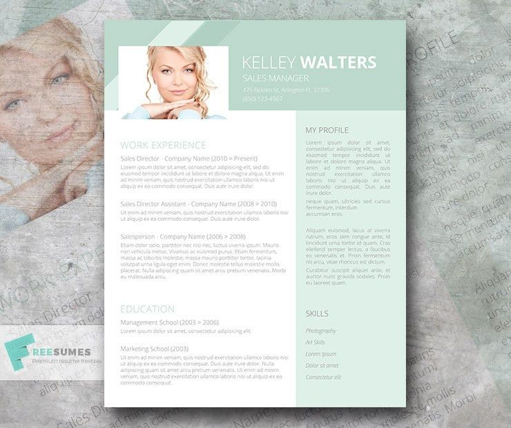 Sales Resume Template Giveaway - Humble Green