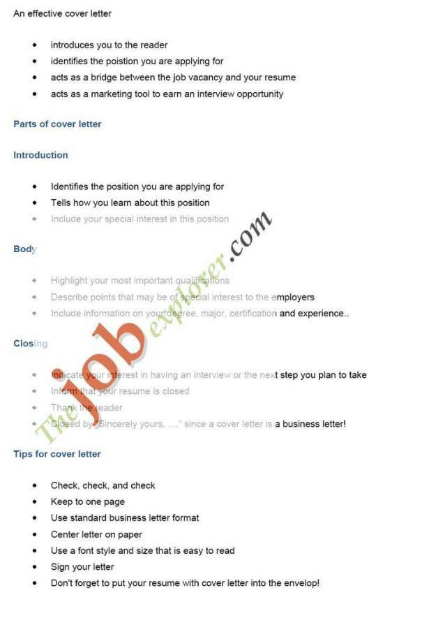 Curriculum Vitae : 23 Cover Letter Template For Free Job Resume ...