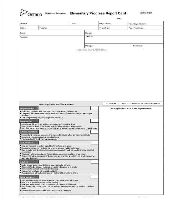 12+ Progress Report Templates - Free Sample, Example, Format ...