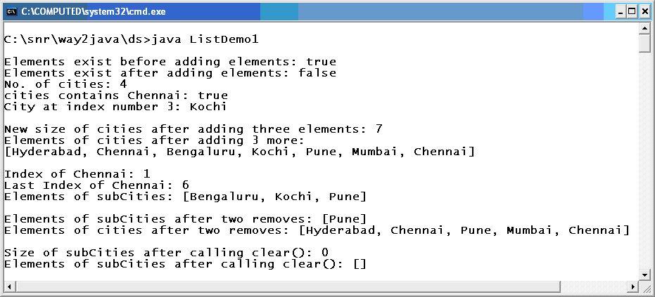 Example Java