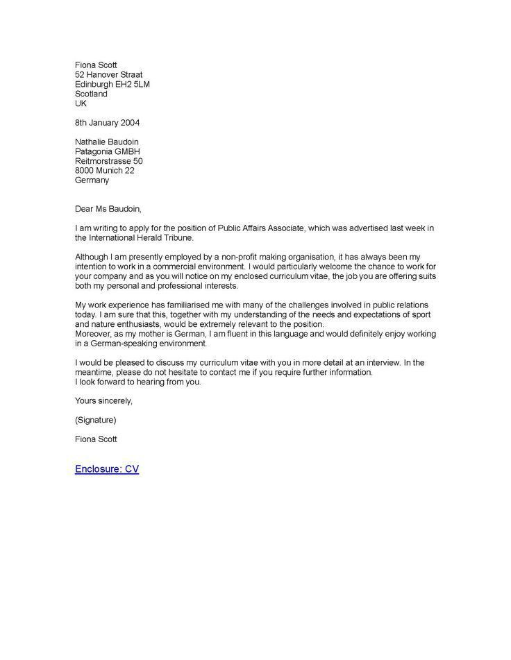 Best 25+ Business letter sample ideas on Pinterest | Sample of ...
