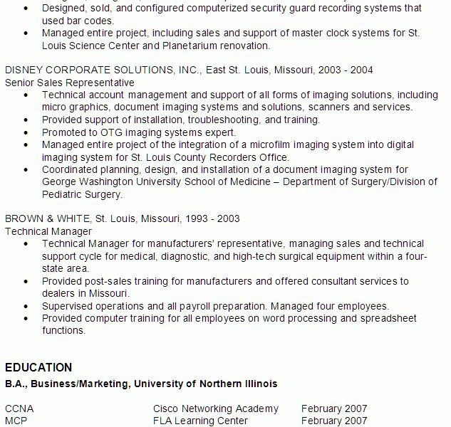 Classy Idea It Resume Sample 10 Resume IT Professional - Resume ...