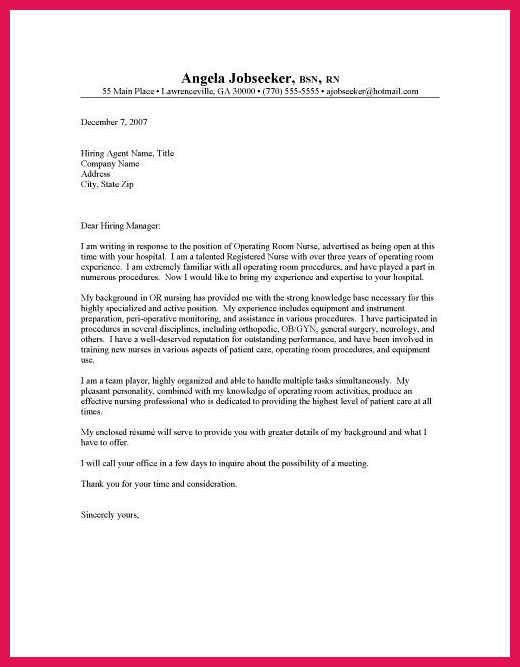 nursing student cover letter | sop examples