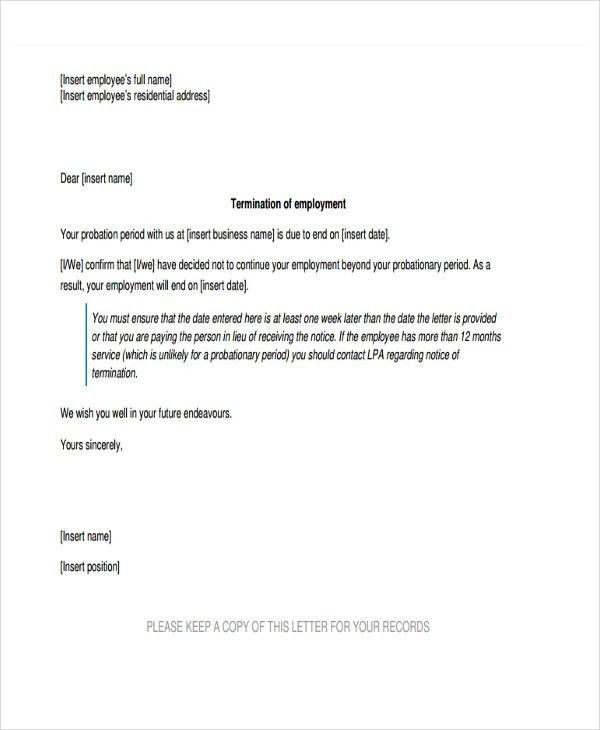 8+ Final Warning Letter Template - 8+ Free Word, PDF Format ...