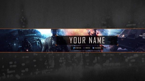 Dedsec YouTube Channel Banner Template   MadMoneyBanks - Sellfy.com