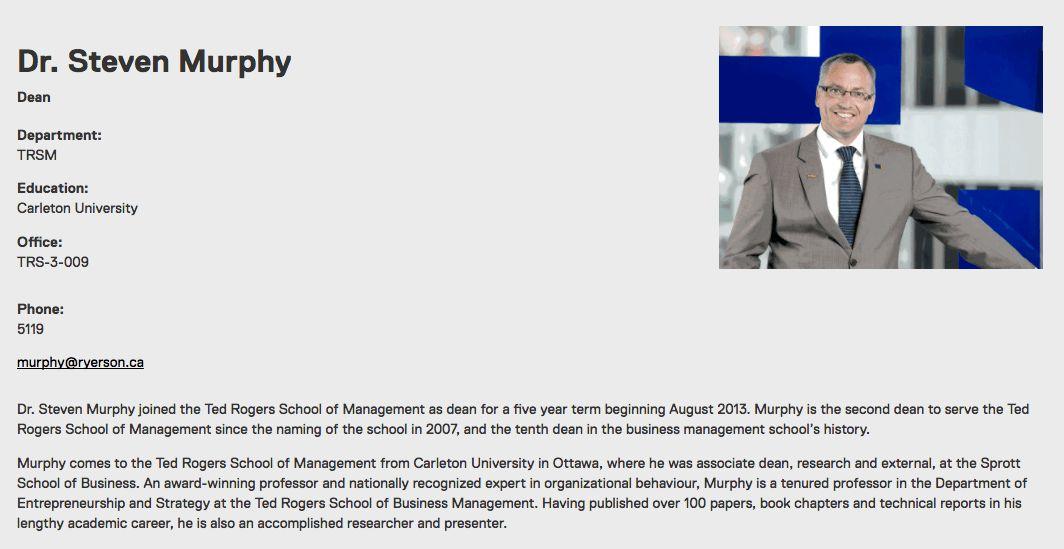 Biography Template - Web Support & Development Services - Ryerson ...