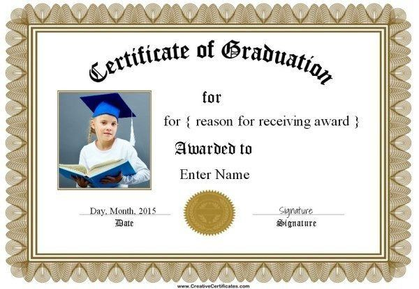 Free Graduation Certificate Templates | Customize Online