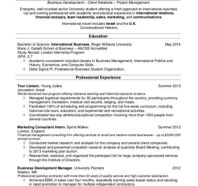 Classy College Student Resumes 15 Resume Guides College Students ...