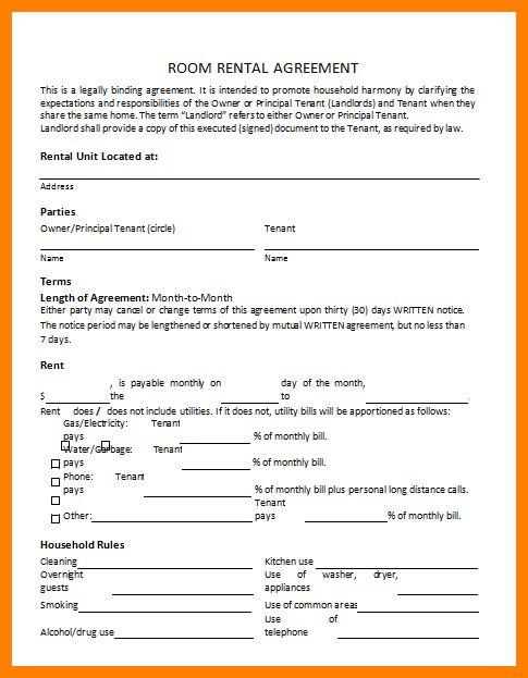 4+ sample rental agreement form | target cashier
