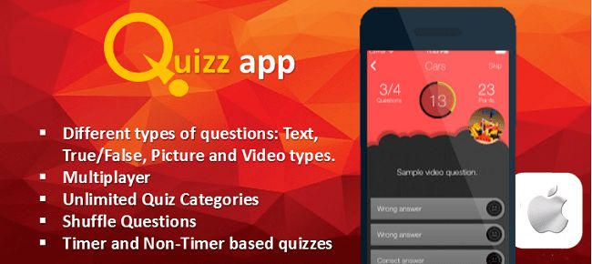 Buy Quiz App Starter Kit - All In One iOS Template Trivia and Quiz ...
