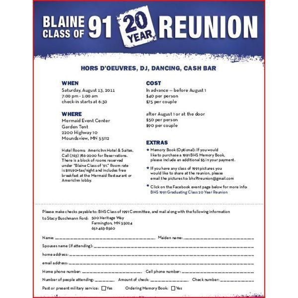 Reunion Invitation Template - Invitation Template