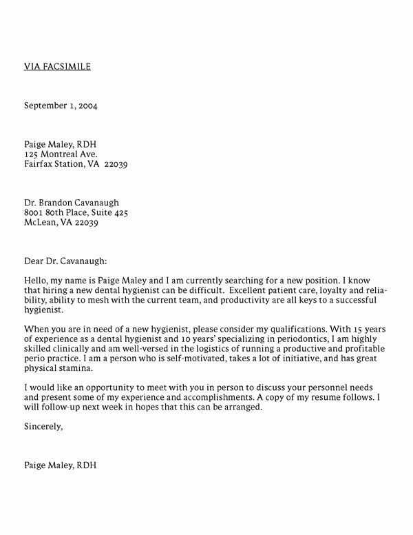 Splendid Design Inspiration Dental Hygiene Cover Letter 14 ...