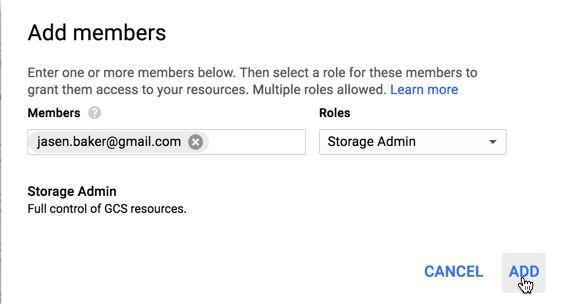 GCS (Google Cloud Storage) Demo Lab