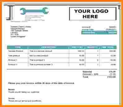 5+ plumber invoice template | Short paid invoice