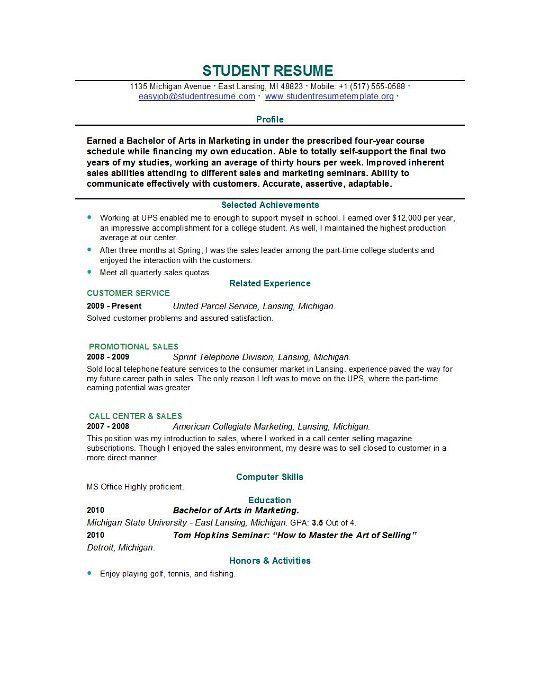 Lovely Ideas Student Resume Builder 6 Resume Builder For Students ...