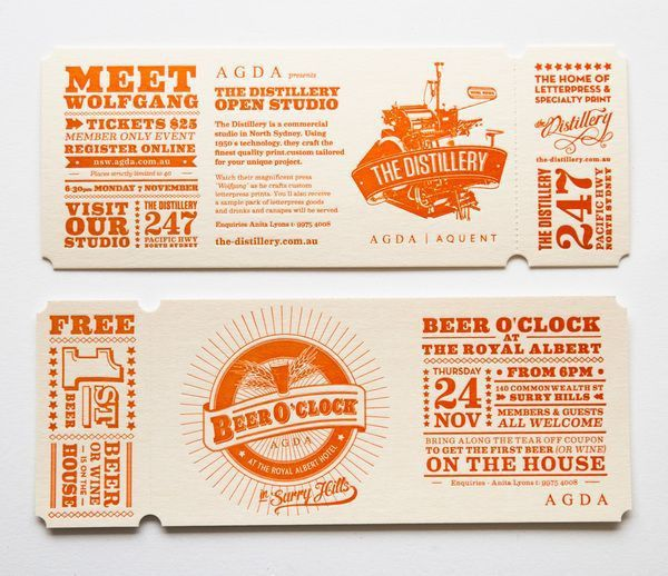 ticket design online free