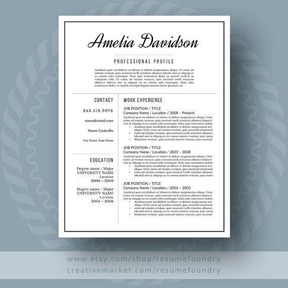 82 best Professional Resumes from Resume Foundry images on ...