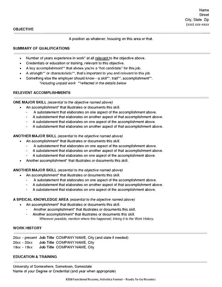 Fanciful Format For Resume 3 Resume Format Guide Chronological ...